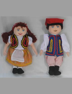 European Cloth Doll