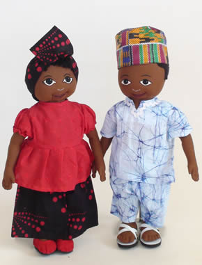 African Cloth Doll