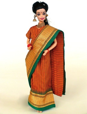 Fashion doll Sari