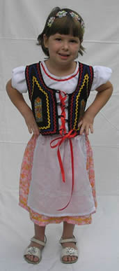 Polish girl dress