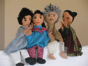 South Asian Puppets